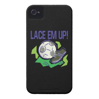 Lace Em Up iPhone 4 Cases