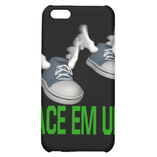 Lace Em Up iPhone 5C Covers