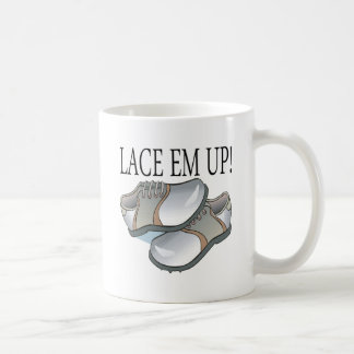 Lace Em Up Coffee Mug