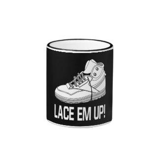 Lace Em Up Coffee Mugs