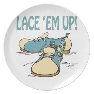 Lace Em Up Plate