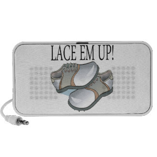 Lace Em Up Travelling Speakers