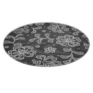 Lace fabric pattern 1 cutting board