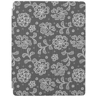 Lace fabric pattern 1 iPad cover