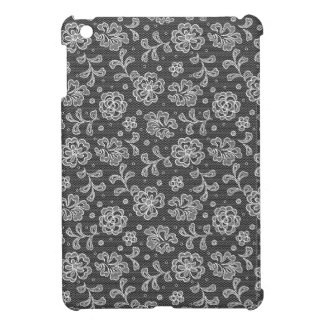 Lace fabric pattern 1 iPad mini cases