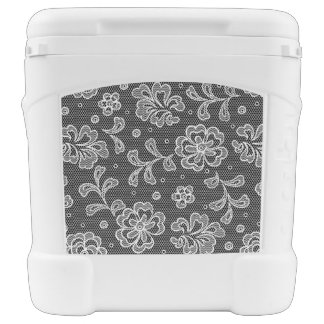 Lace fabric pattern 1 rolling cooler