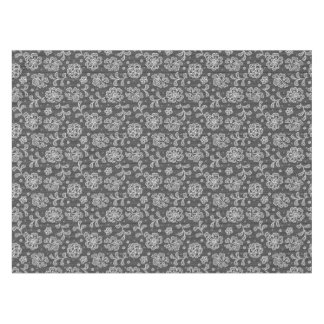 Lace fabric pattern 1 tablecloth
