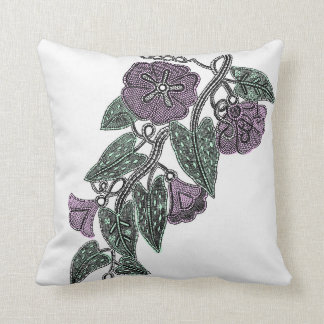 Lace Flowers Cushion