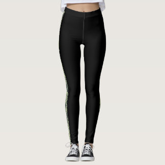 Lace Panel Look Leggings