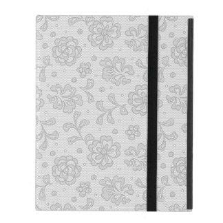 Lace pattern, flower vintage 1 iPad case