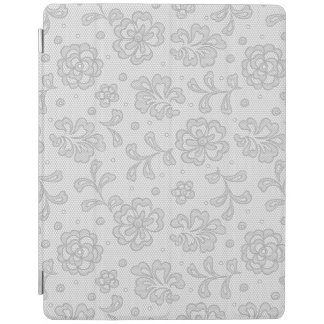 Lace pattern, flower vintage 1 iPad cover