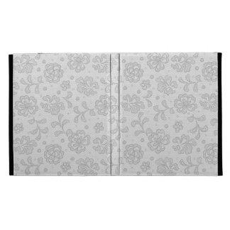 Lace pattern, flower vintage 1 iPad folio cases