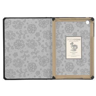 Lace pattern, flower vintage 1 iPad mini cover