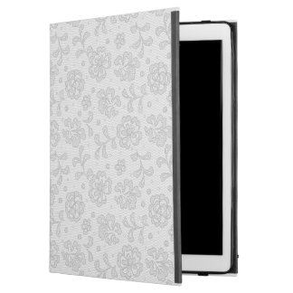 "Lace pattern, flower vintage 1 iPad pro 12.9"" case"