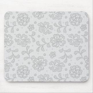 Lace pattern, flower vintage 1 mouse mat