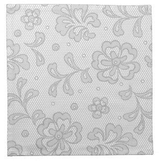 Lace pattern, flower vintage 1 napkin
