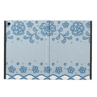 Lace pattern, flower vintage 2 iPad air cover