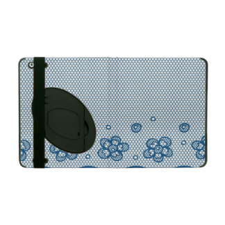 Lace pattern, flower vintage 2 case for iPad