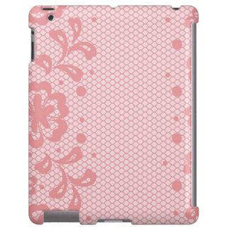 Lace pattern, flower vintage 3 iPad case