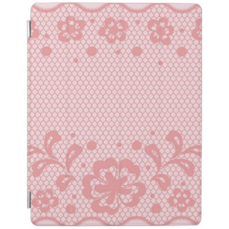 Lace pattern, flower vintage 3 iPad cover