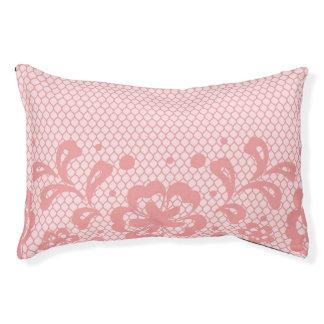 Lace pattern, flower vintage 3 pet bed