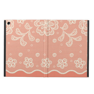 Lace pattern, flower vintage 4 case for iPad air