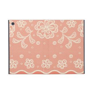 Lace pattern, flower vintage 4 case for iPad mini