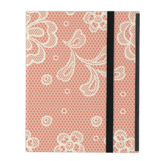 Lace pattern, flower vintage 4 covers for iPad