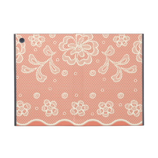Lace pattern, flower vintage 4 case for iPad mini