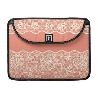 Lace pattern, flower vintage 4 sleeve for MacBook pro