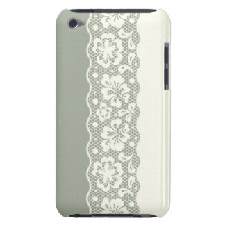 Lace pattern, flower vintage 5 barely there iPod cover