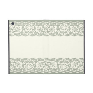 Lace pattern, flower vintage 5 iPad mini cover