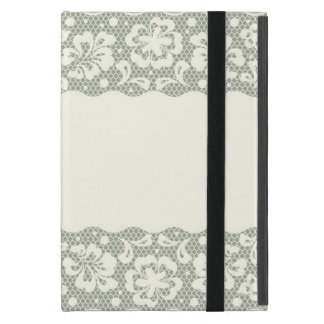 Lace pattern, flower vintage 5 iPad mini case
