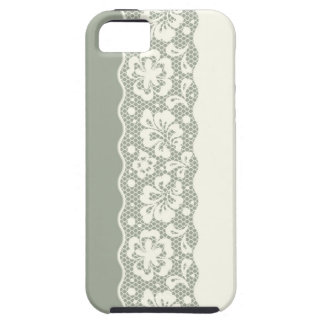 Lace pattern, flower vintage 5 iPhone 5 cover