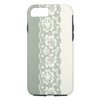 Lace pattern, flower vintage 5 iPhone 8/7 case