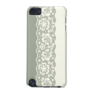 Lace pattern, flower vintage 5 iPod touch 5G case