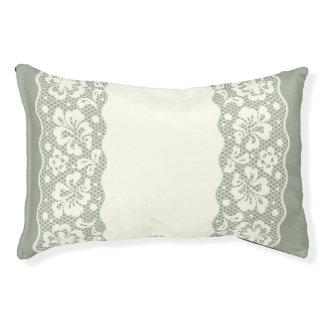 Lace pattern, flower vintage 5 pet bed