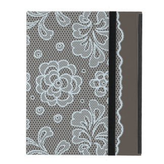 Lace pattern, flower vintage 6 iPad folio cover