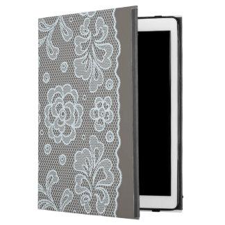 "Lace pattern, flower vintage 6 iPad pro 12.9"" case"