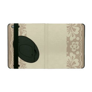 Lace pattern, flower vintage 7 cases for iPad