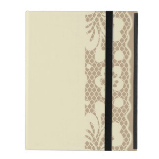 Lace pattern, flower vintage 7 iPad cover
