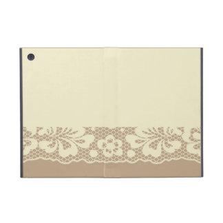 Lace pattern, flower vintage 7 iPad mini case