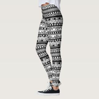 Lace Pattern Leggings