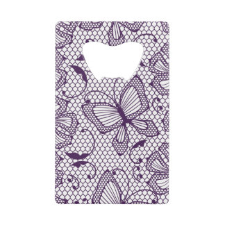 Lace pattern with butterflies