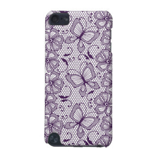 Lace pattern with butterflies iPod touch 5G case