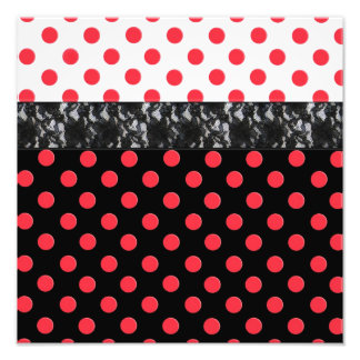 Lace Polka Dot Photo