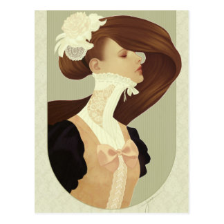 'Lace' Postcard