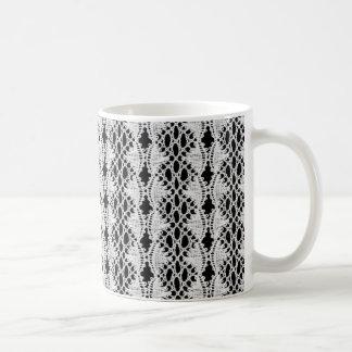 Lace Print Mug