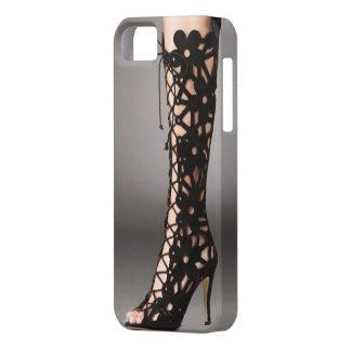 Lace Stiletto Boots iPhone 5/5s Case