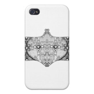 Lace Strip iPhone 4 Covers